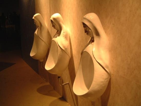 Vatican Urinal